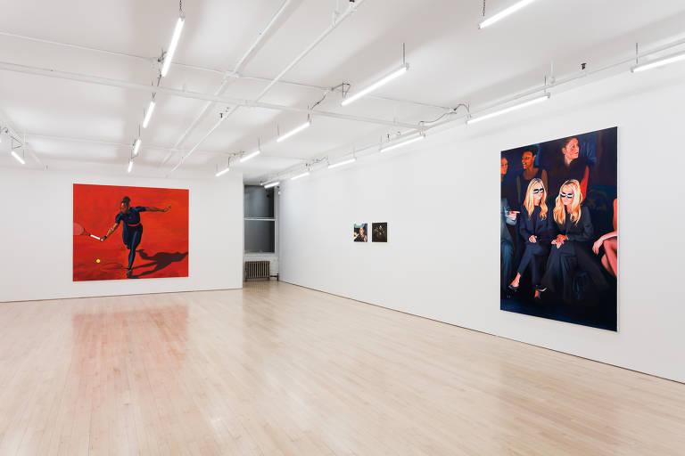 Confira fotos de algumas galerias em Nova York que abriram salas de exposição online