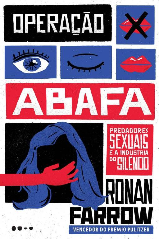 """Capa do livro """"Operação Abafa"""", de Ronan Farrow"""