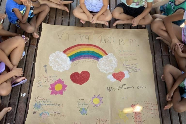 Em SC, funcionários de abrigo levam crianças para casa por proteção contra coronavírus