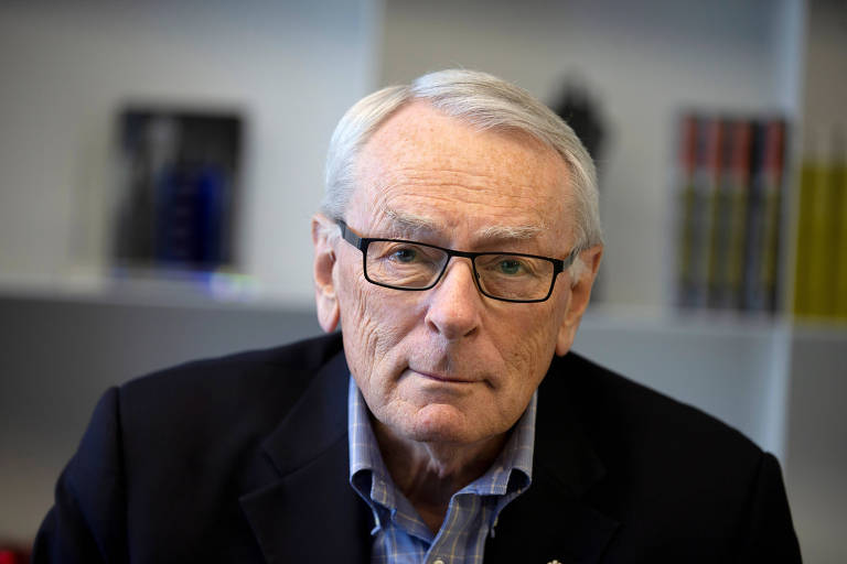 O canadense Dick Pound, membro do COI