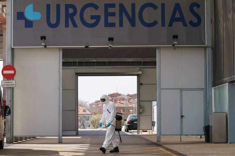Espanha é o segundo país mais afetado pelo coronavírus na Europa