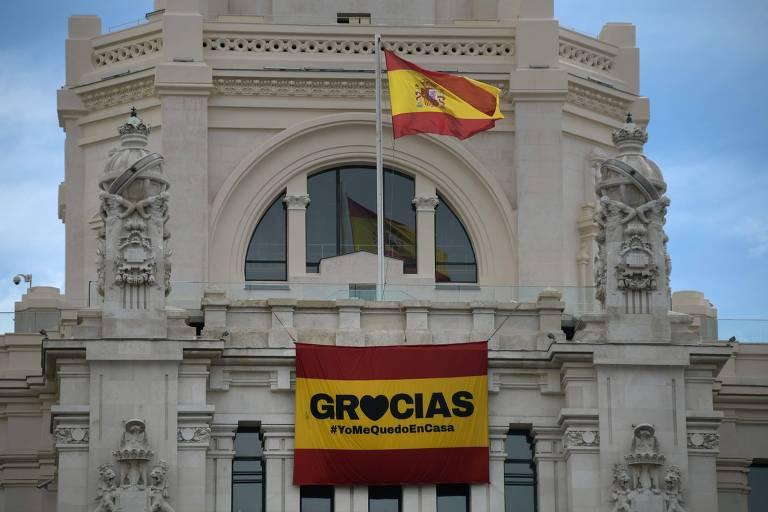 A Espanha durante o coronavírus