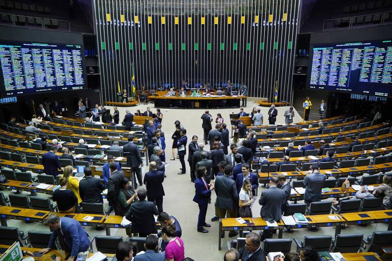 Congresso Nacional; congressistas aprovaram projetos com alta dos custos das medidas de socorro