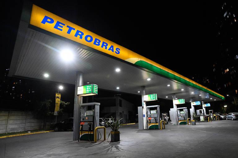 Posto da Petrobras em Santiago, Chile