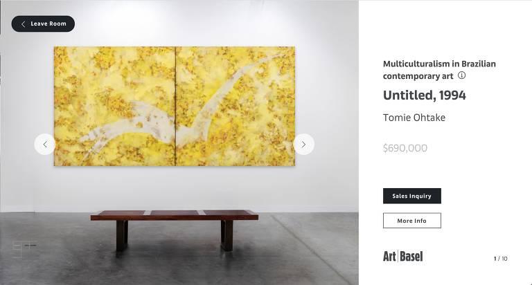 Sem feiras, galerias de arte buscam internet para se reinventar em meio ao coronavírus