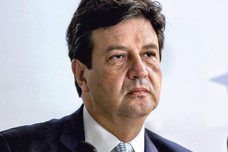 Luiz Henrique Mandetta na crise do coronavírus