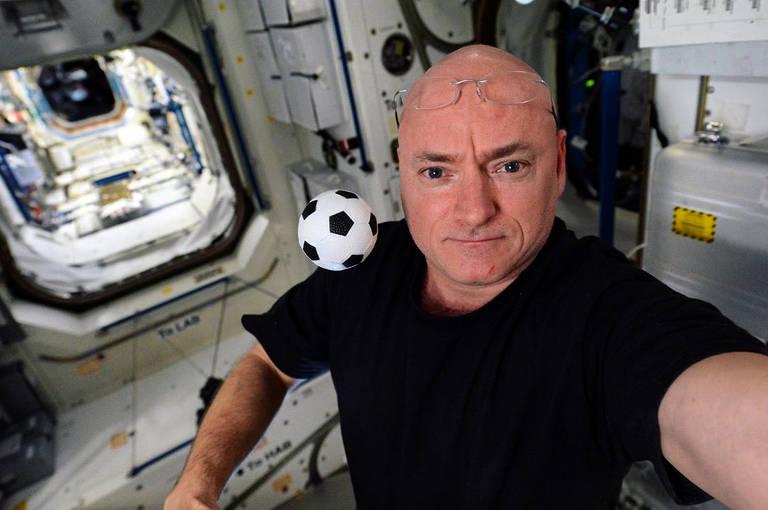 Imagens do astronauta Scott Kelly