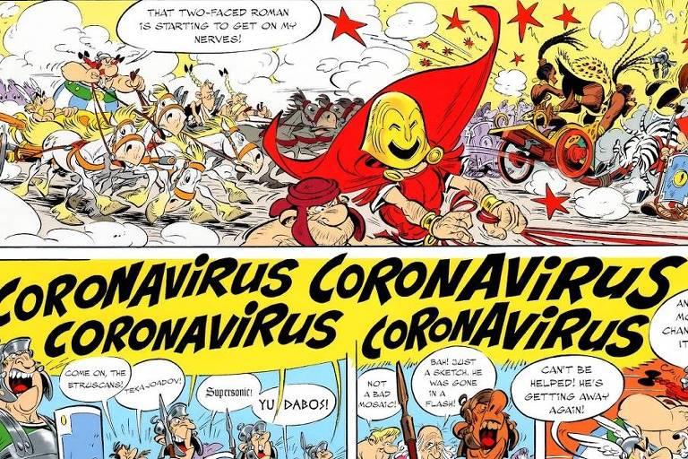 Veja imagens de 'Asterix e a Transitálica'