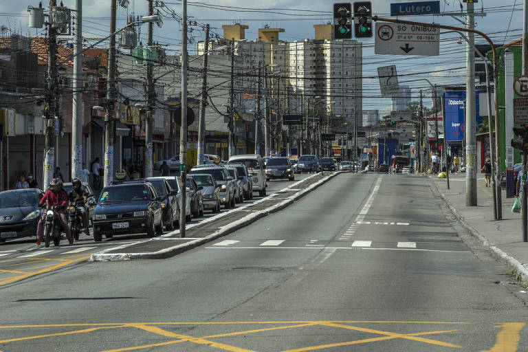 Movimentação no Campo Limpo, zona sul de São Paulo
