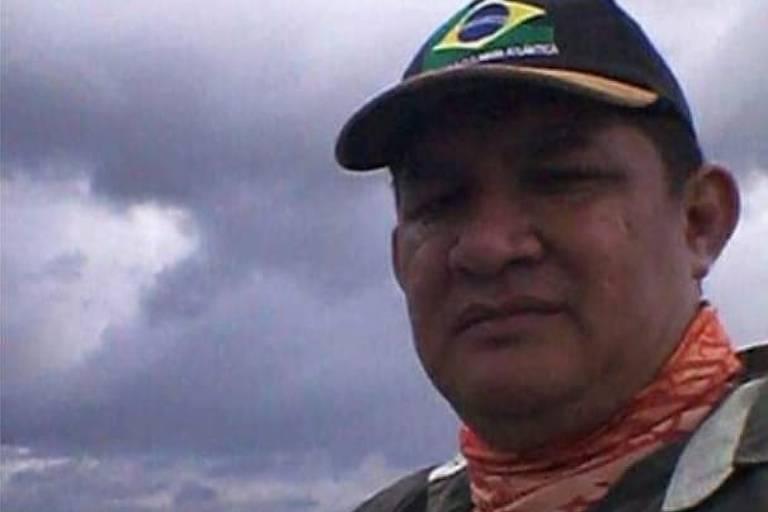 O comerciante Geraldo Savio da Silva, morto em decorrência do coronavírus