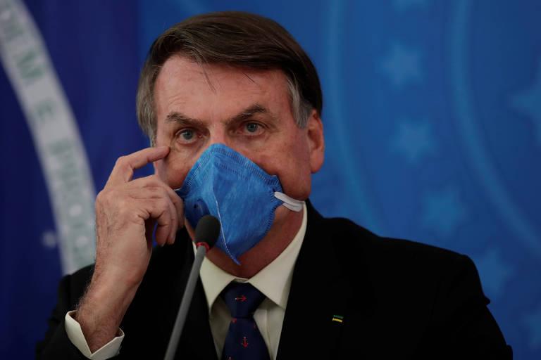O presidente Jair Bolsonaro tem contrariado a maior parte das medidas da Organização Mundial da Saúde e também do ministro da Saúde, Luiz Henrique Mandetta