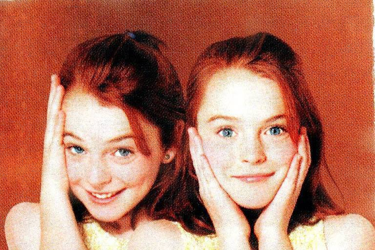 """A atriz Lindsay Lohan posa para foto do filme """"Operação Cupido"""""""