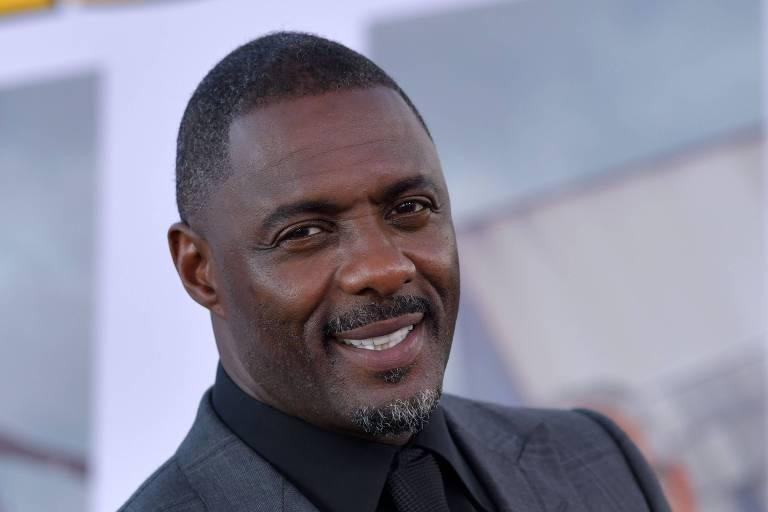 O ator Idris Elba