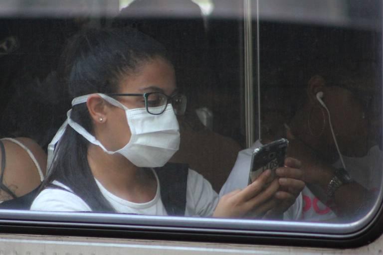 Uso de máscaras para se proteger do novo coronavírus