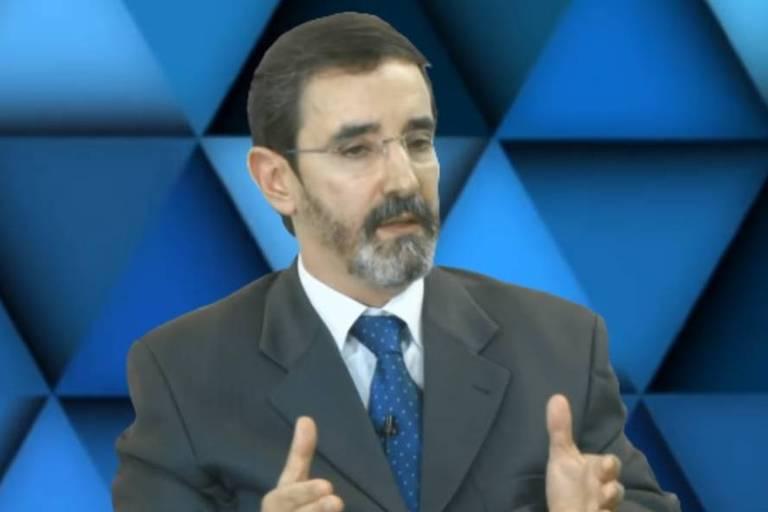O juiz Sílvio Luís Ferreira da Rocha, durante debate veiculado no YouTube, em 2018