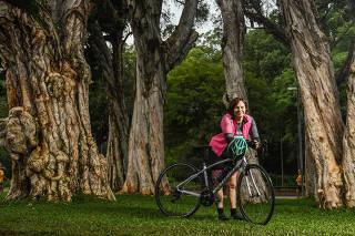 Superando medo de bike