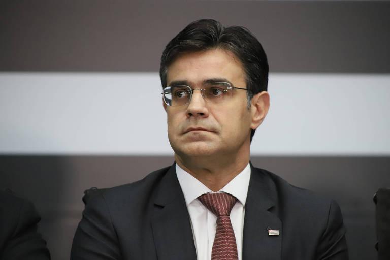 O vice-governador Rodrigo Garcia (DEM), que se reuniu com 74 cônsules sobre a crise