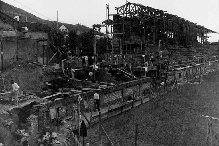 Obras nas Laranjeiras foram interrompidas durante a pandemia