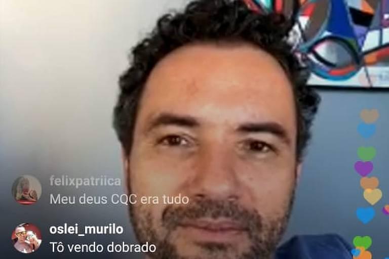 Live com Felipe Andreoli e Marco Luque