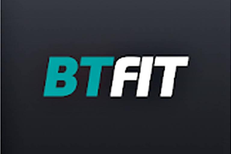 Logotipo do aplicativo de exercícios online BTFit