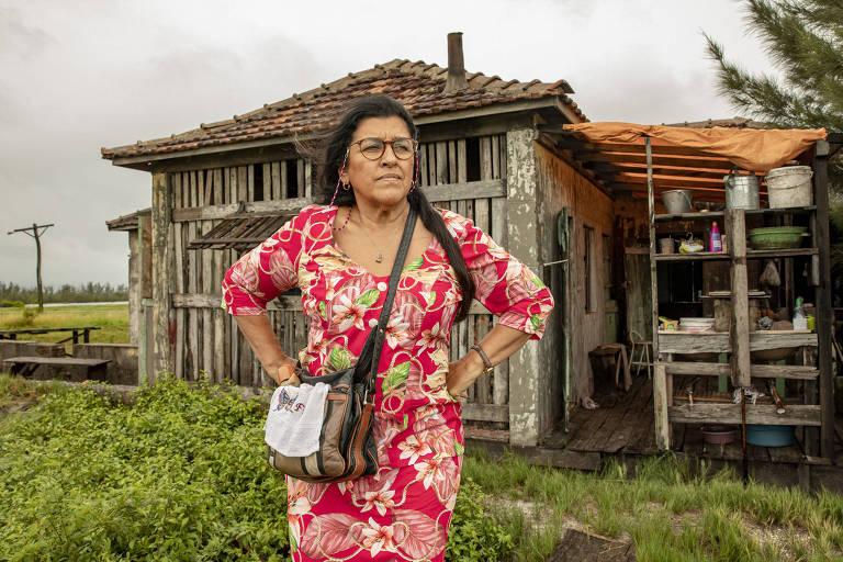 Regina Casé como Lurdes em 'Amor de Mãe'