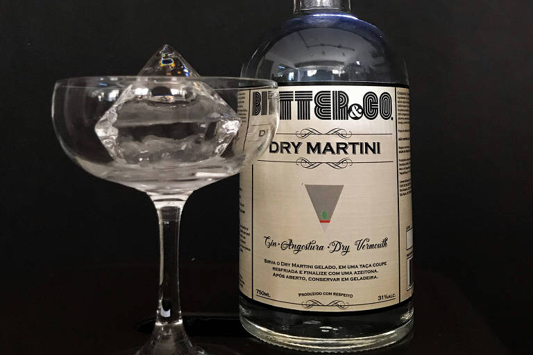 Dry Martini pronto da empresa Bitter & Co.