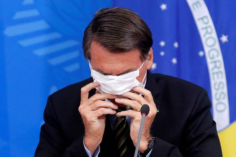 Jair Bolsonaro na críse do coronavírus