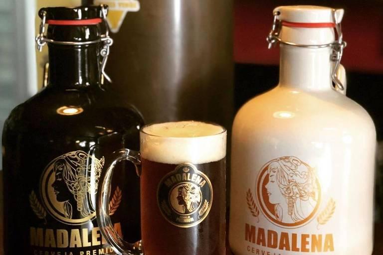 Delivery da Cervejaria Madalena, em Santo André