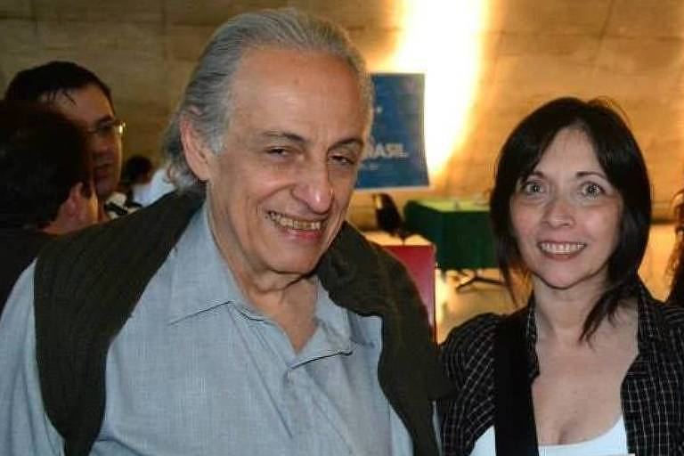 Christiane Marcondes Alves de Brito (1959-2020) e o professor Wladyr Nader