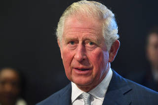 Britain's Prince Charles and Camilla, Duchess of Cornwall visit the London Transport Museum in London