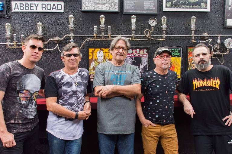 Banda Casa das Máquinas, em 2019
