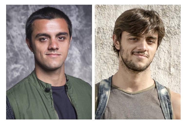 """Felipe Simas é o Téo, de """"Salve-se quem Puder"""", e é o Jonatas em """"Totalmente Demais"""""""