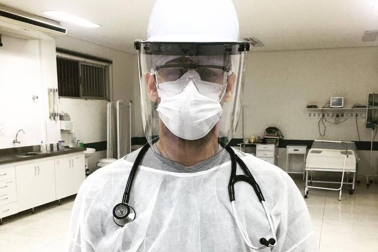 Médicos relatam medo e angústia com avanço da pandemia de Covid-19