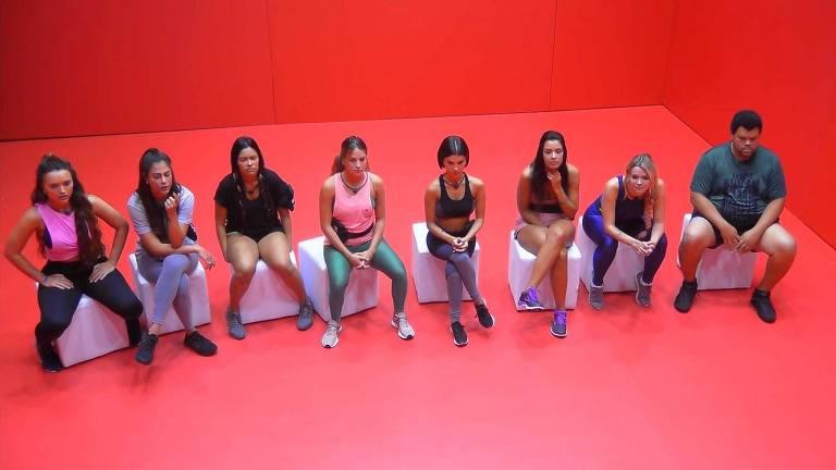 Participantes se preparam para disputar a Prova do Anjo