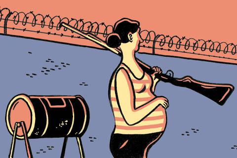 Ilustração Fido publicada no dia 29 de março de 2020 no caderno Mundo, referente ao texto dizendo que vai ser o pior após a pandemia do coronav