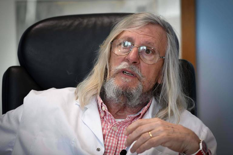 Médico infectologista francês Didier Raoult, diretor do Instituto Hospital Universitário Méditerranée Infection