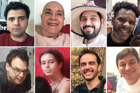 Brasileiros ao redor do mundo contam como encaram a quarentena Foto: Montagem