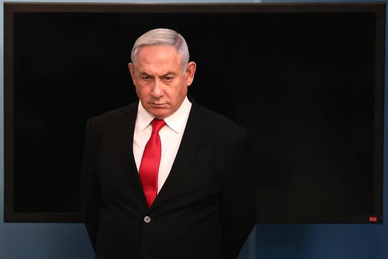 Primeiro-ministro israelense Binyamin Netanyahu tem adotado medidas duras contra o novo coronavírus