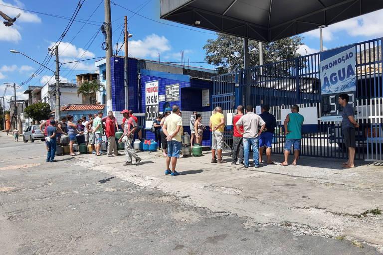 Com coronavírus, falta de gás de cozinha persiste na capital paulista