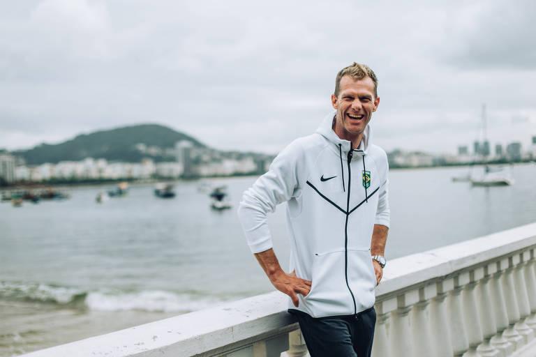 O bicampeão olímpico Robert Scheidt terá 48 anos na Olimpíada de Tóquio, sua sétima edição
