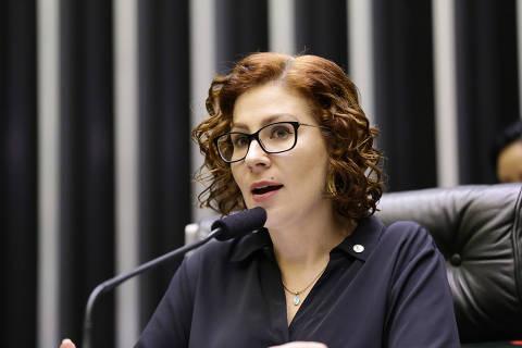 BRASILIA, DF, 22-04-2019  Homenagem ao Dia da Policia Civil. Dep. Carla Zambelli (PSL-SP).   Foto:Michel Jesus/ Câmara dos Deputados