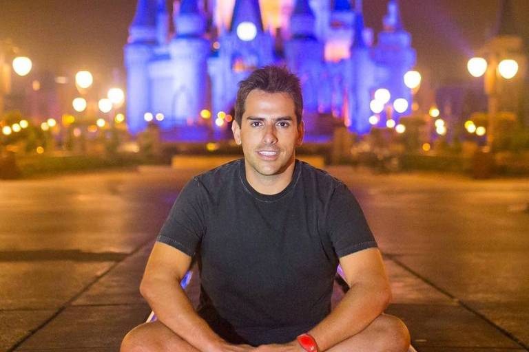 Rodrigo Branco, empresário e guia de turismo de Orlando para famosos