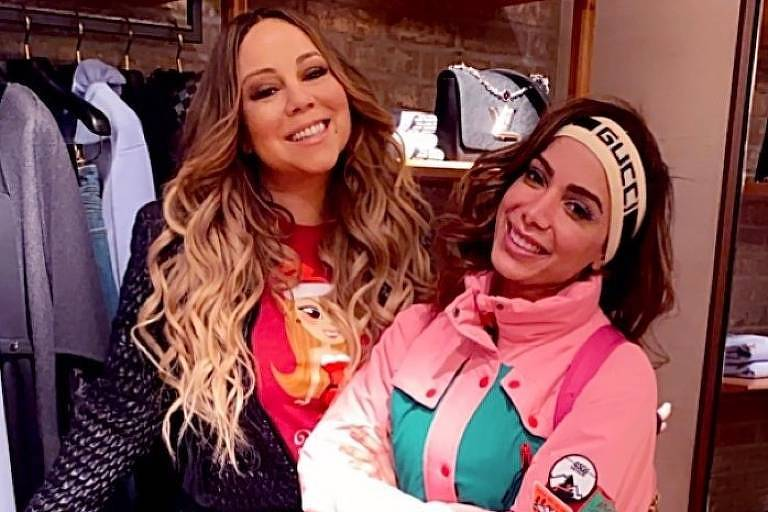 F5 - Celebridades - Anitta recebe parabéns de Mariah Carey e brinca:  'Morri' - 31/03/2020
