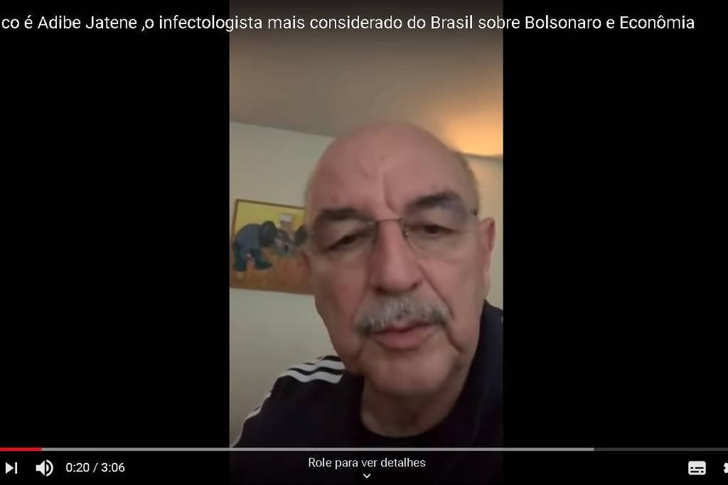 Vídeos de Osmar Terra são compartilhados como se fossem do ex-ministro Adib Jatene
