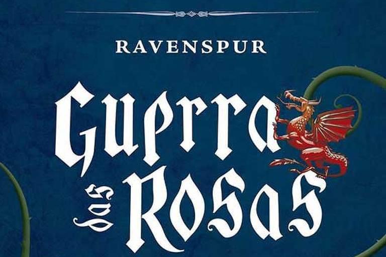 """Capa de """"Guerra das Rosas"""""""