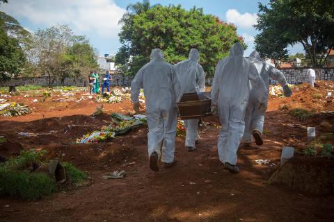 Brasil bate recorde e registra 60 novas mortes por coronavírus; total de óbitos é de 359
