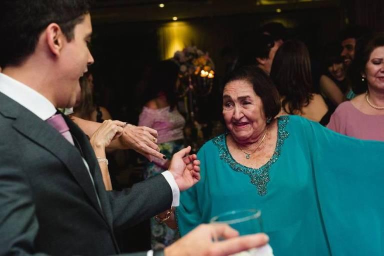 Zelinda Cidrão, 85, é uma das vítimas do coronavírus no Ceará