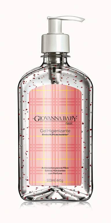 Álcool Gel de marcas famosas contra a disseminação do coronavírus
