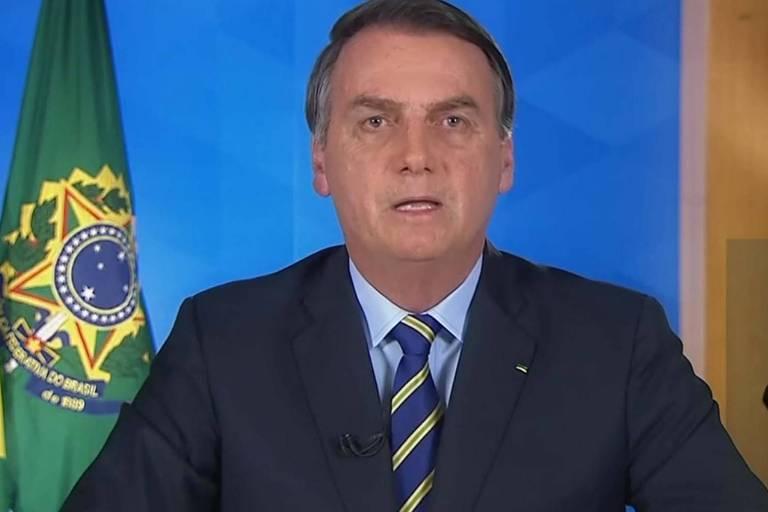 Bolsonaro faz nesta terça-feira (31) o 4º pronunciamento em rede nacional sobre o coronavírus