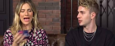 Giovanna Ewbank conversa com Leo Picon em seu canal